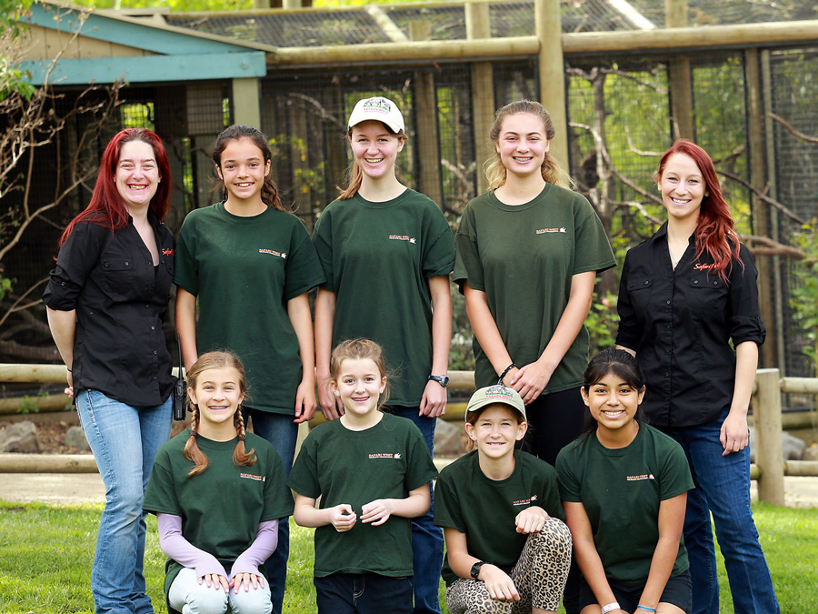 Junior Keepers at Safari West